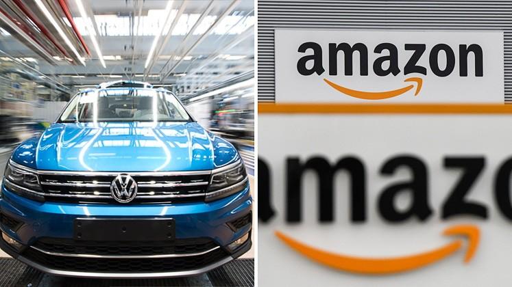 Volkswagen und Amazon stehen vor weitreichender Zusammenarbeit