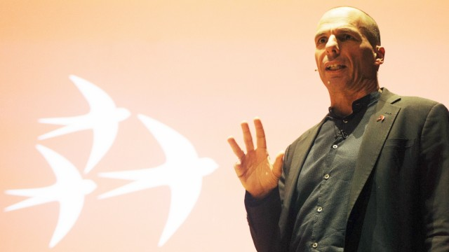 "Varoufakis stellt ´Democracy in Europe Movement 2025"" vor"