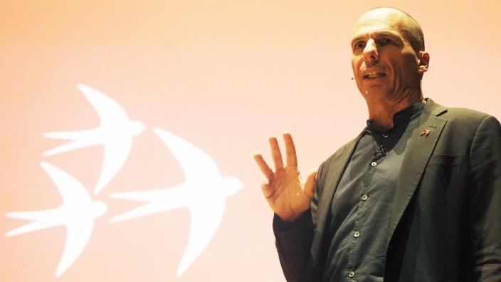 """Varoufakis stellt ´Democracy in Europe Movement 2025"""" vor"""