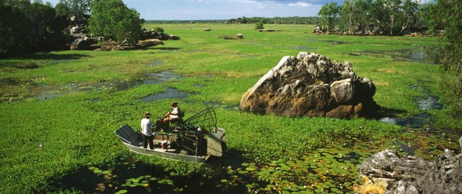 Das Arnhemland im Northern Territory ist eine der am dünnsten besiedelten Regionen Australiens.