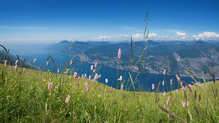 Monte Baldo Gardasee Italien Trentino lago di garda