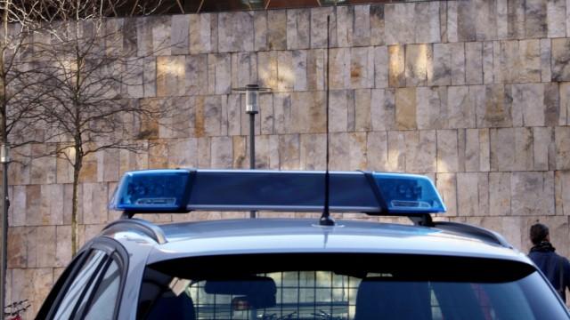 Polizei vor Synagoge München