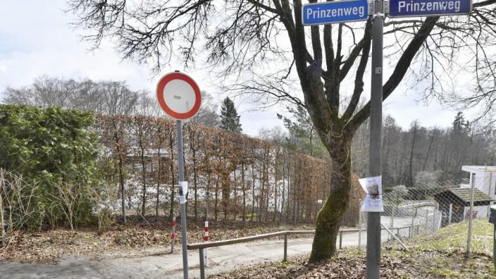 Starnberg, Weg zw. Prinzenzenweg und Wilhelmhöhenstraße