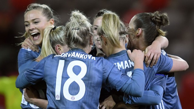 Frauenfußball Champions League der Frauen