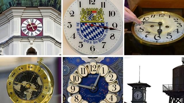 Dachau Uhren umstellen
