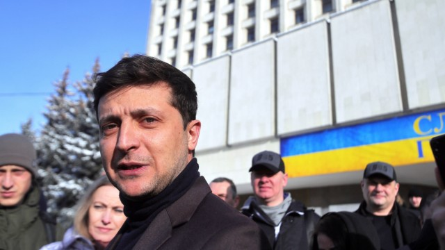 Wladimir Selenski kandidiert in der Ukraine
