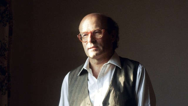 Portrait du realisateur comedien et producteur allemand Volker Schlondorff Schloendorff annees 1