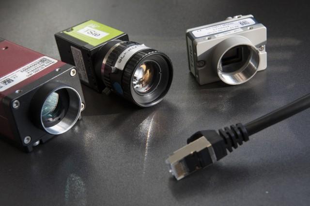 Kompakte Industrie-Netzwerk-Kameras