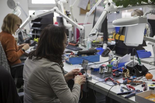 Kabelkonfektionierung, Produktiuonsraum