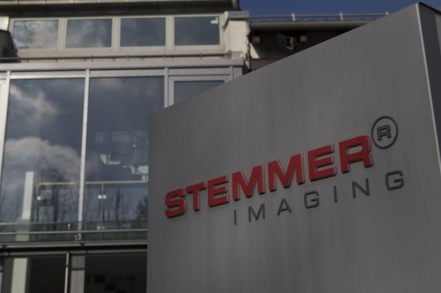 Gebäude mit Firmenschild Stemmer Imaging AG