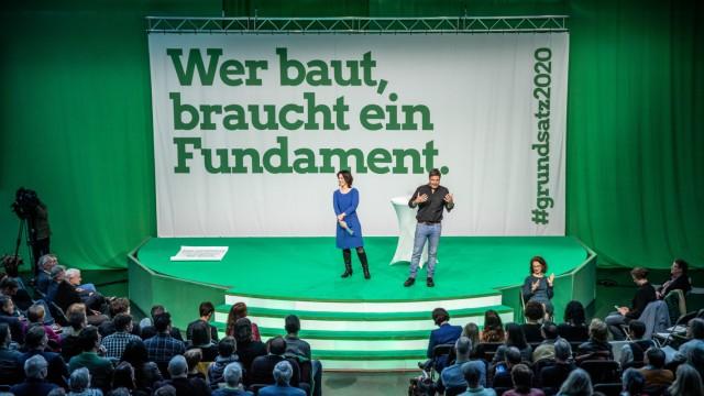 Grüne Grundsatzkonvent Baerbock Harbeck
