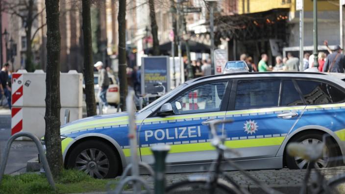 Düsseldorf Altstadt - Polizei