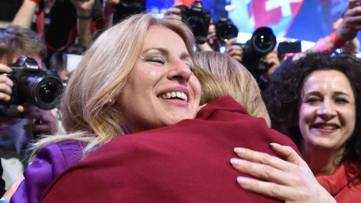 Zuzana Caputova wird erste Präsidentin der Slowakei