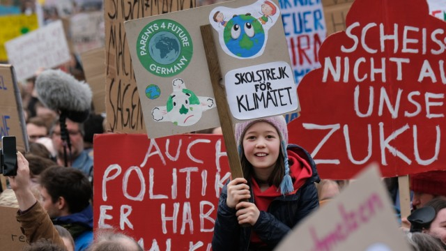 Greta Thunberg Attends Berlin Fridays For Future March