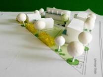 Pöring - Modell Bebauung Eglhartinger Strasse