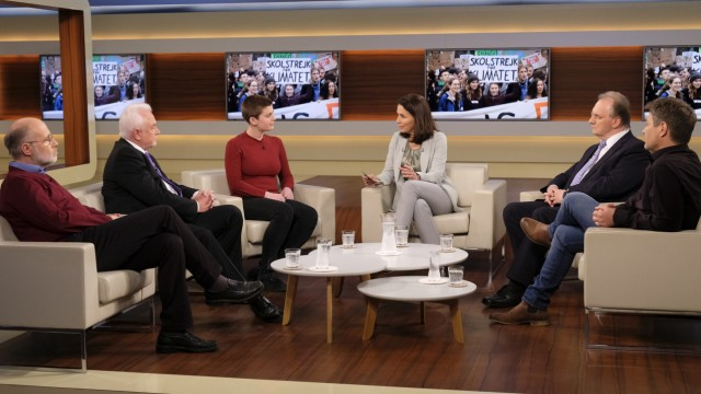 Anne Will - Talkrunde mit Greta Thunberg