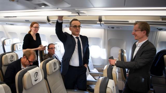 Airbus A340 'Konrad Adenauer' der Luftwaffe in New York