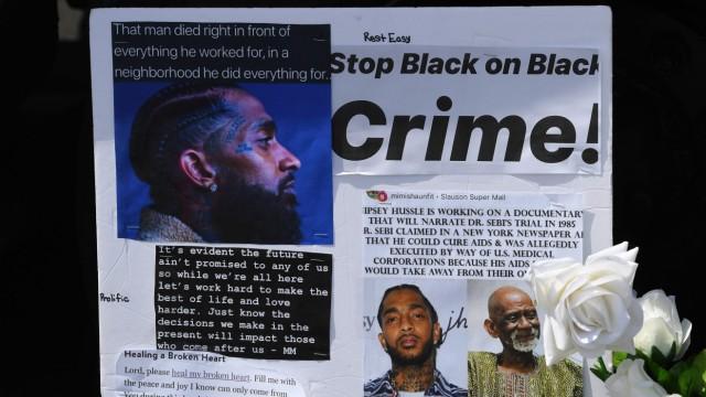 Kriminalität Rapper Nipsey Hussle erschossen