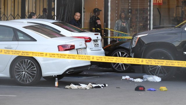 Grammy-nominated US rapper Nipsey Hussle fatally shot