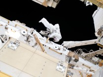 Astronauten auf der ISS