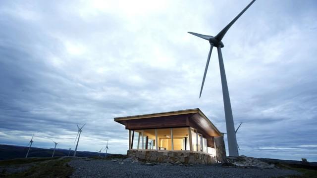 Energie Ausbau der Windkraft