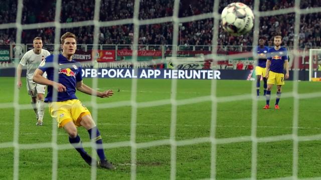 FC Augsburg v RB Leipzig - DFB Cup