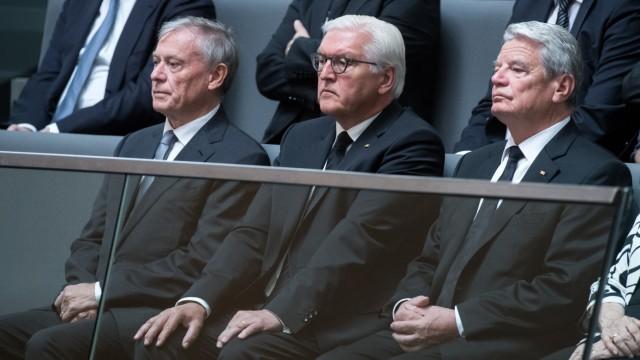Bundestag - Gedenken an Helmut Kohl
