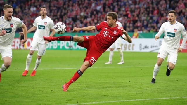 Bayern Muenchen v 1. FC Heidenheim - DFB Cup