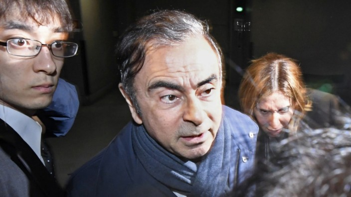 Ghosn Nissan Verhaftung