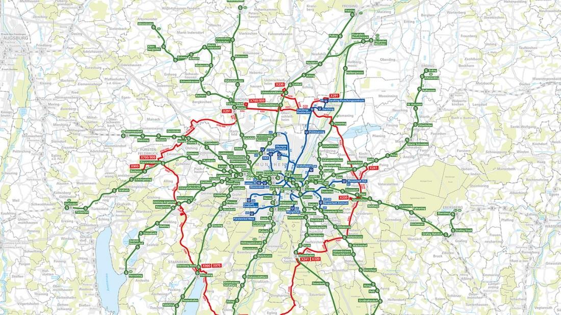 S Bahn Karte München.S Bahn München Ringbuslinien Für 2022 Geplant Landkreis München