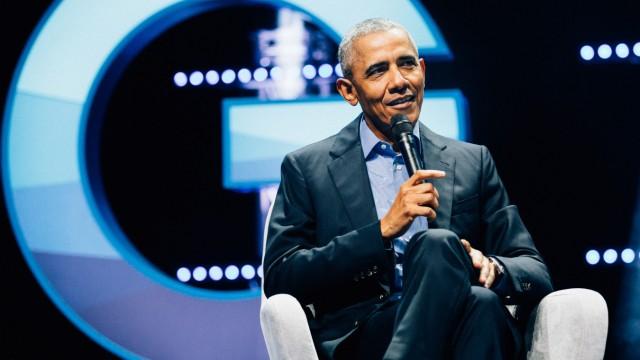 Barack Obama in Köln: Deutschland-Besuch des Ex-US-Präsidenten