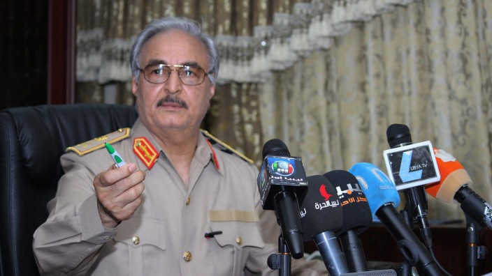 Libyscher General Chalifa Haftar