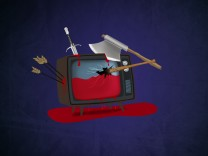 Medien Illustration Brutale Serien im Streaming