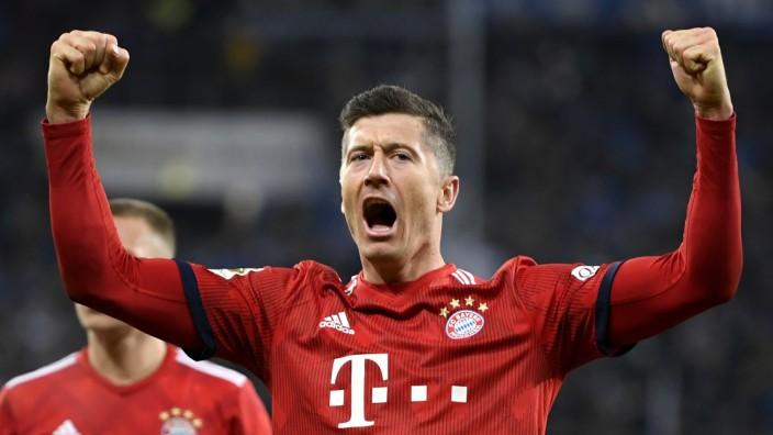 TSG 1899 Hoffenheim v FC Bayern Muenchen - Bundesliga; Lewandowski