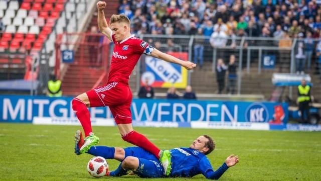 Karlsruher SC SpVgg Unterhaching 06 04 2019 Herren Saison 2018 2019 3 Liga Fußball Heimspiel