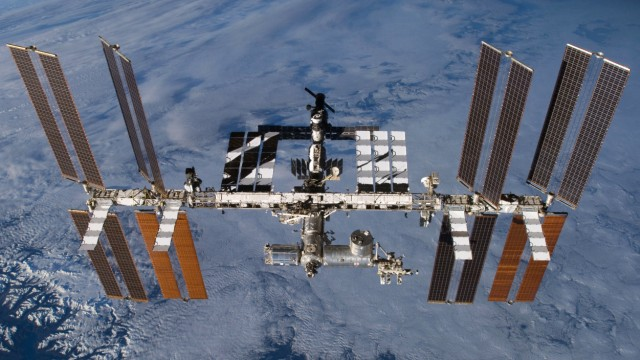 Internationalen Raumstation ISS