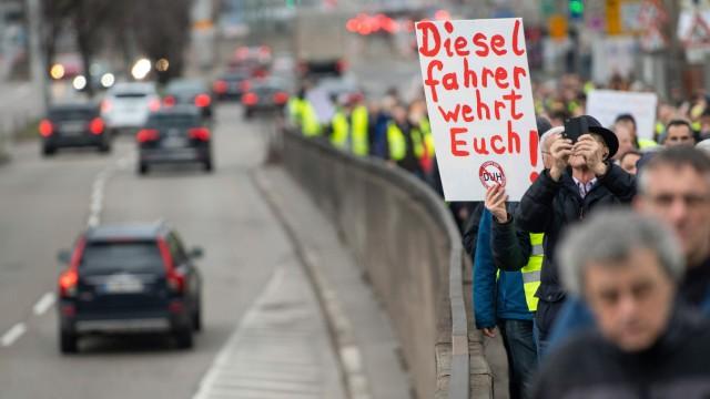 Diesel-Demo Stuttgart