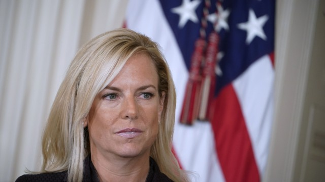 US Homeland Security chief Nielsen 'leaving her position': Trump