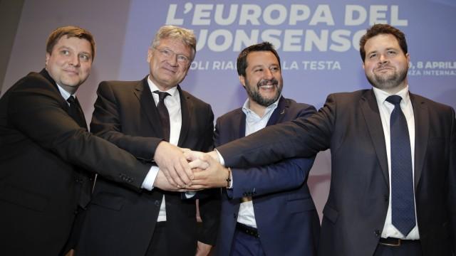 Neue Fraktion im Europaparlament