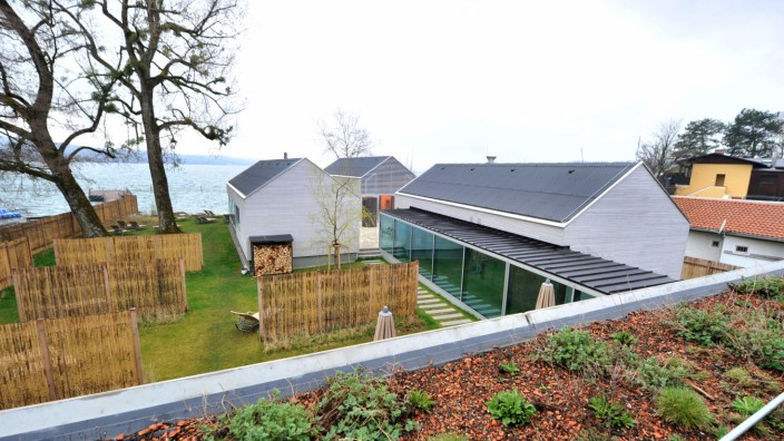 Starnberg: Strandhouse-Seebad : Blick auf den Saunabereich