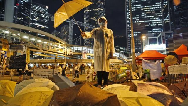 """Regenschirm-Bewegung"" 2014 in Hongkong"