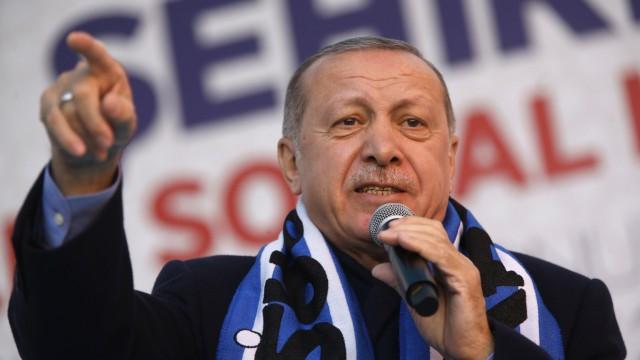 Türkei - Präsident und AKP-Chef Tayyip Erdogan