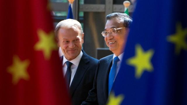 EU-China-Gipfel, Donald Tusk, Li Keqiang