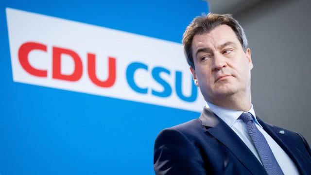 Gemeinsame Sitzung von CDU und CSU