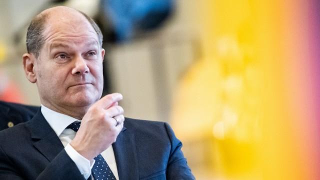 Vizekanzler und Finanzminister Olaf Scholz (SPD)