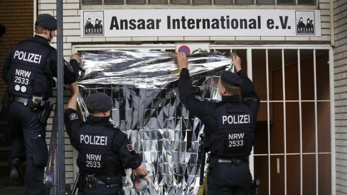 Razzien gegen islamisches Netzwerk