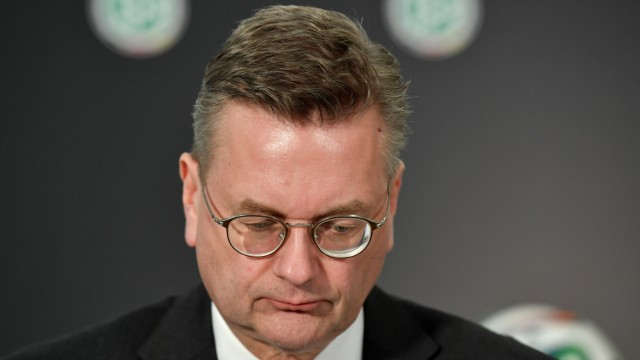 Der ehemalige DFB-Präsident Reinhard Grindel