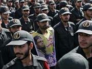 Revolutionsgarden, Schlagkräftige Stütze des Regimes; AFP