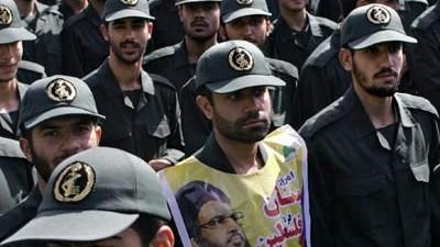 Iran Revolutionswächter in Iran