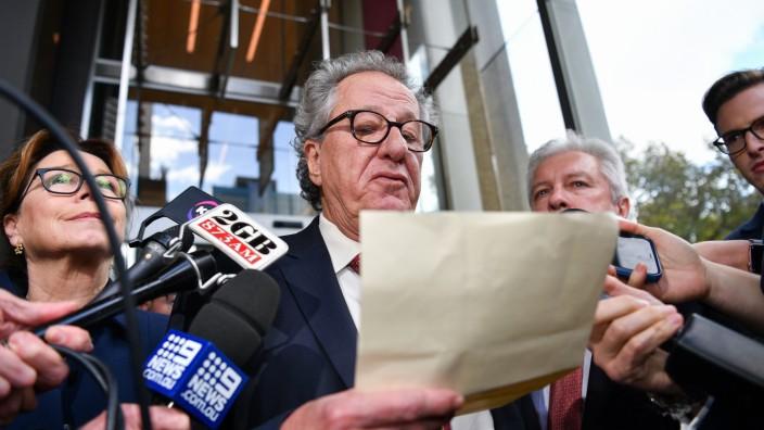 Geoffrey Rush gewinnt Klage gegen Zeitung
